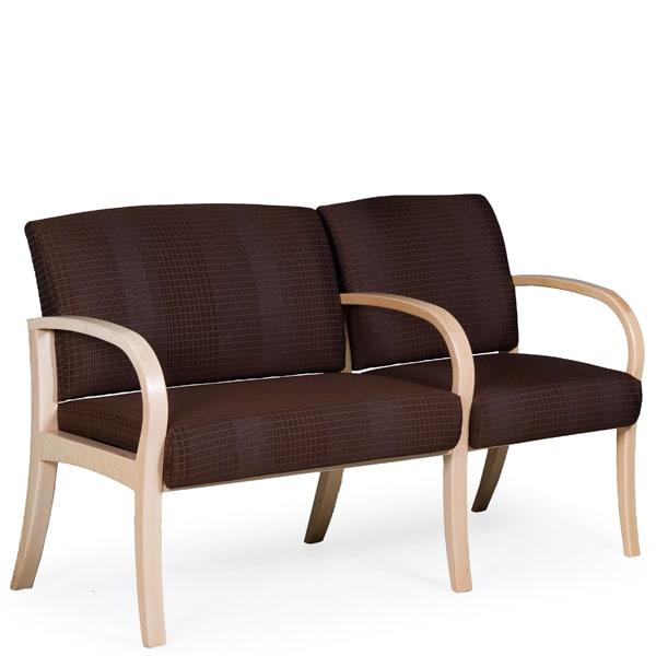 freelance bariatric silver 3qfront - La Z Boy Office Chair