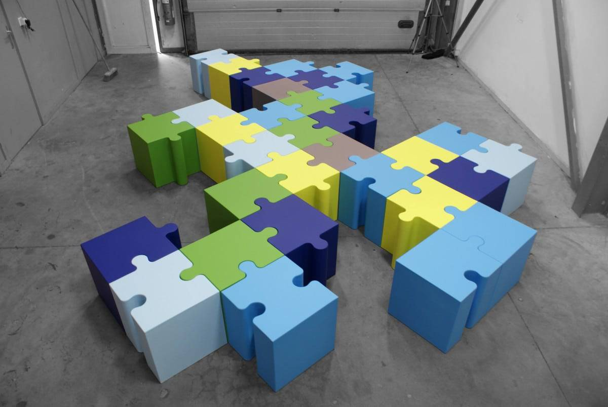 Sixinch Puzzle seating - educational furniture
