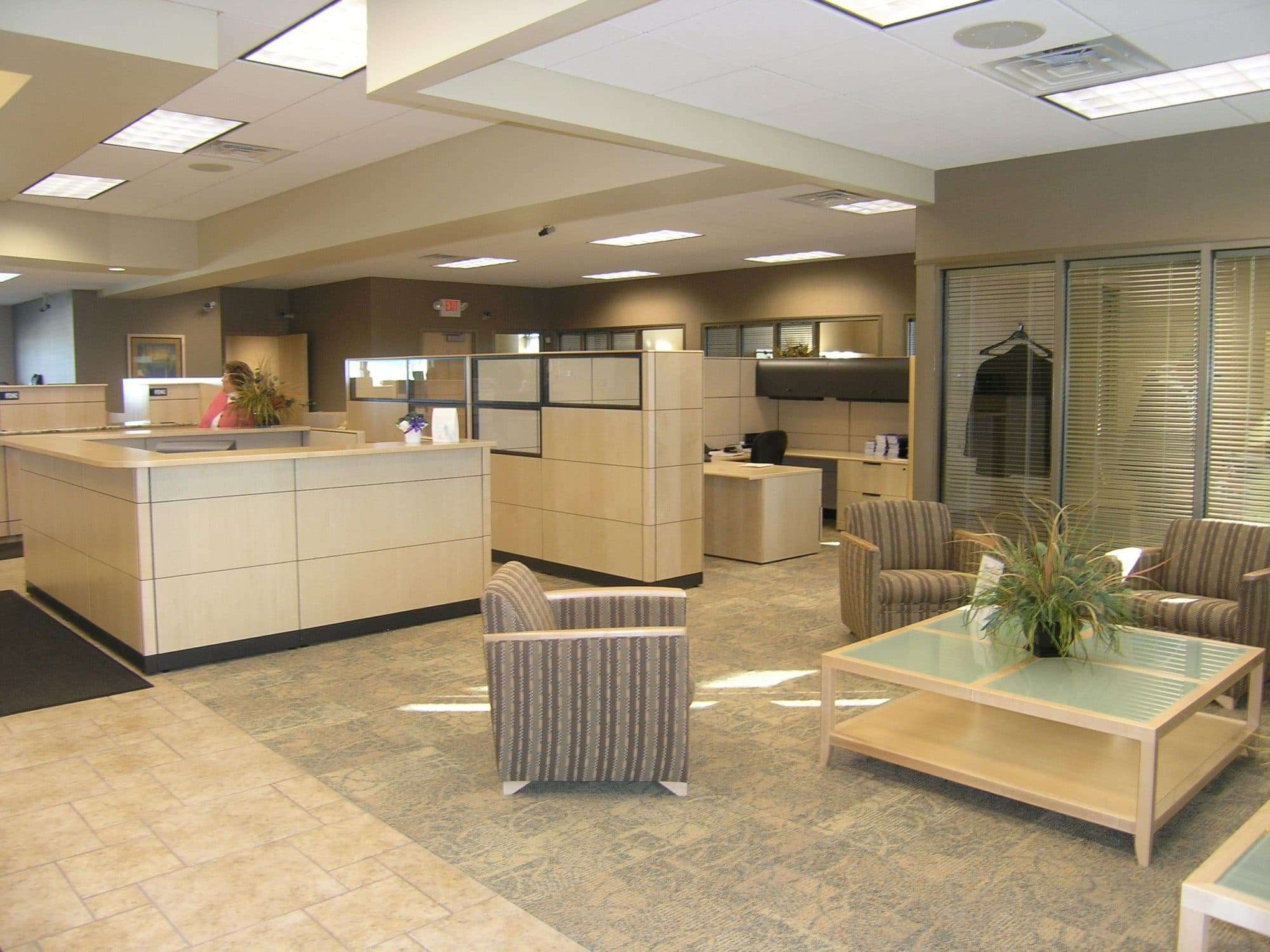 Making A Good First Impression Commercial Interior Design Is The Key Systems Furniture
