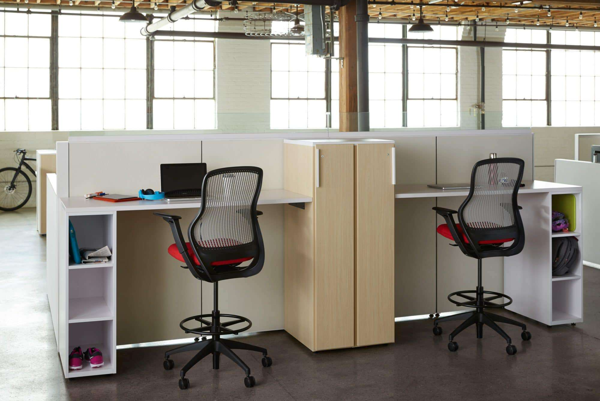 interior design office space white systems furnitures touchdown creating office space for mobile employees