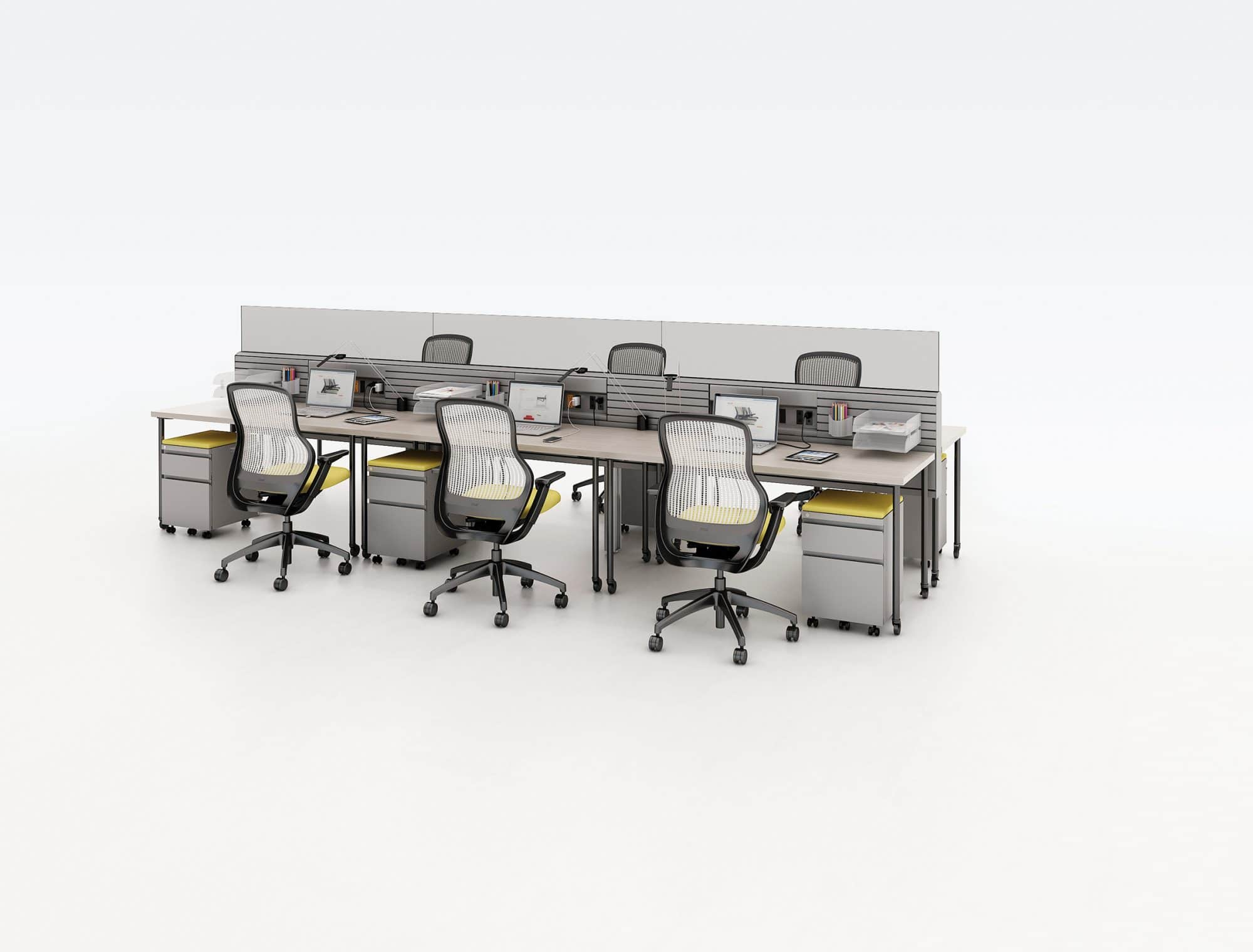 Touchdown Creating Office Space For Mobile Employees Systems Furniture