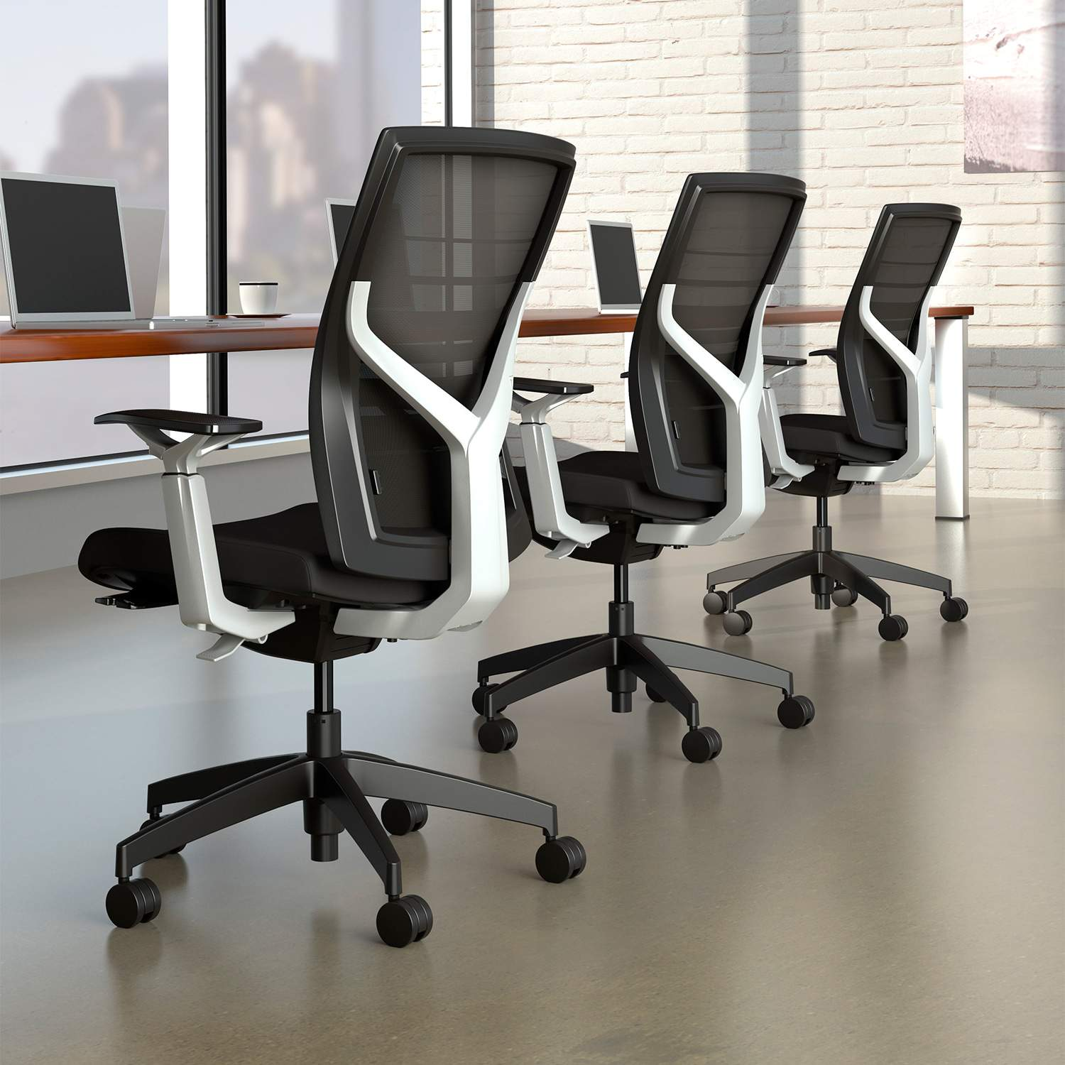 ergonomic office chair adjustable seat depth