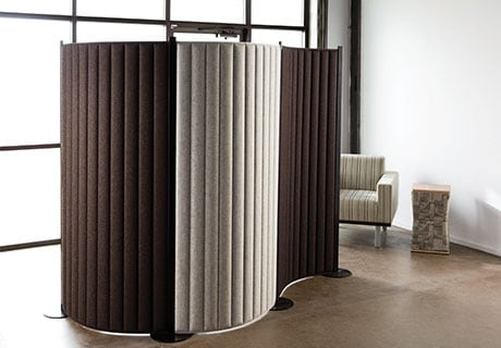 A spotlight on interior office design systems furniture for Movable exterior walls