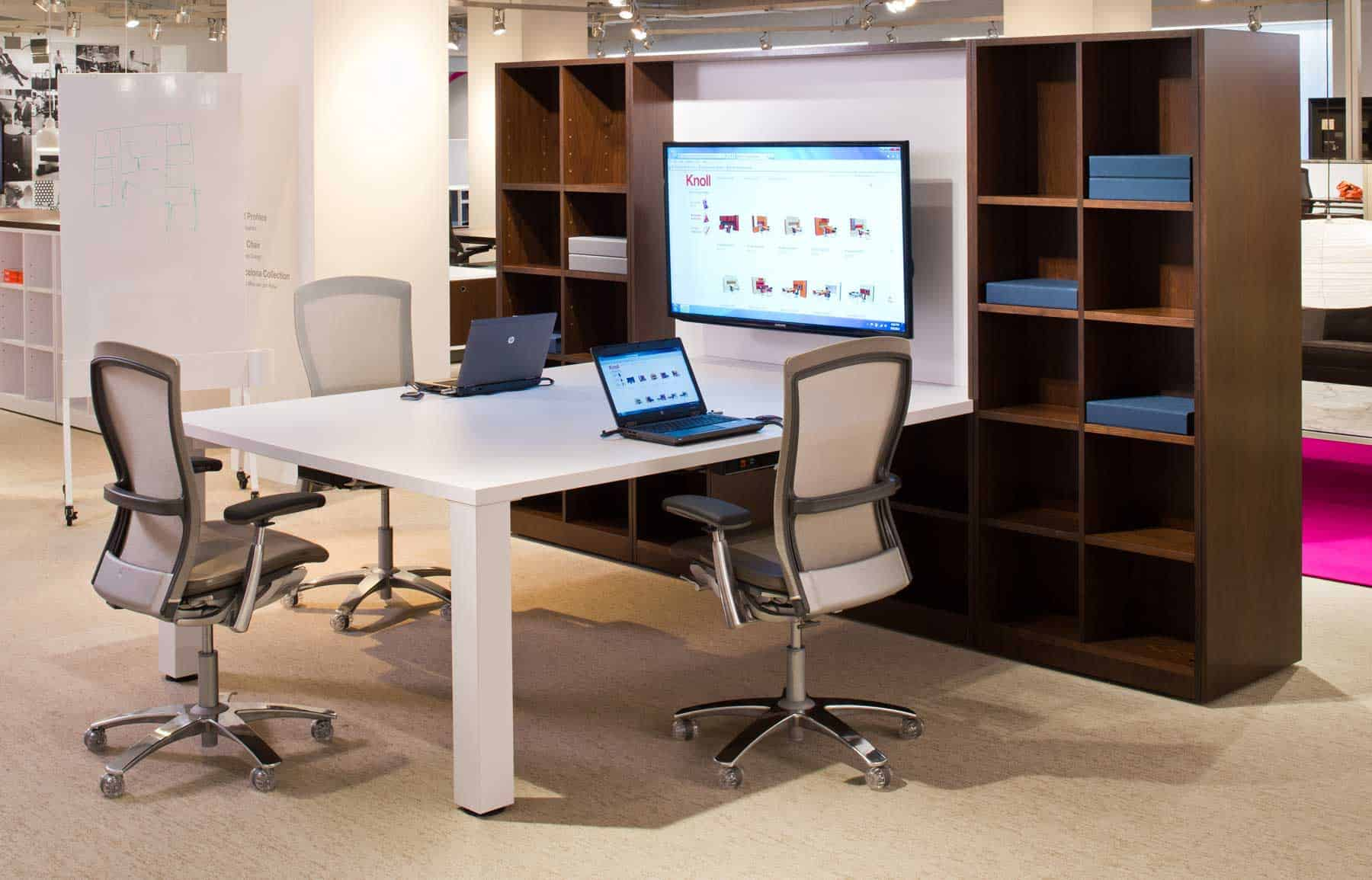 knoll office furniture + technology = a powerful workplace