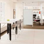 Activity Space with Bertoia Stools sm