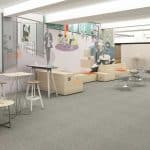 Bertoia Chairs and Rockwell Unscripted