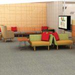 Knoll Rockwell lounge