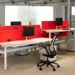 Systems Furniture height adjustable desks