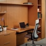Office furniture systems oak veneer