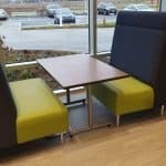 employee break room furniture booths