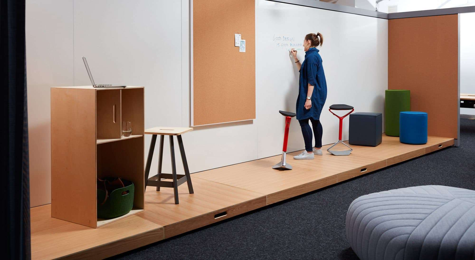 Conference room systems provide privacy and connection on Creative Wall  id=87986